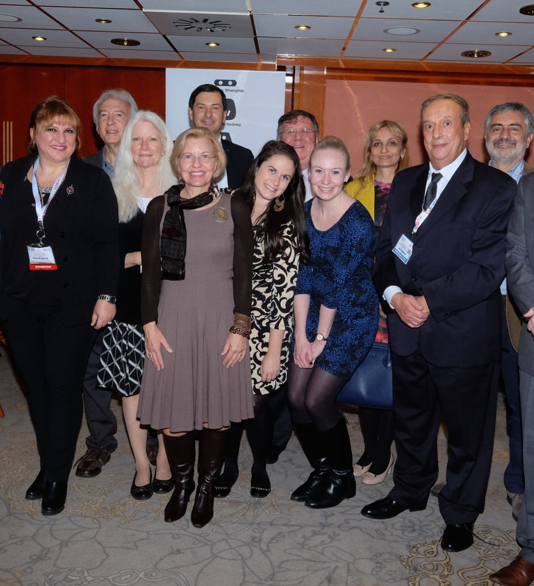 The American Society of Travel Agents International Chapter Presidents Dinner onboard the Sunborn Yacht HotelŠ