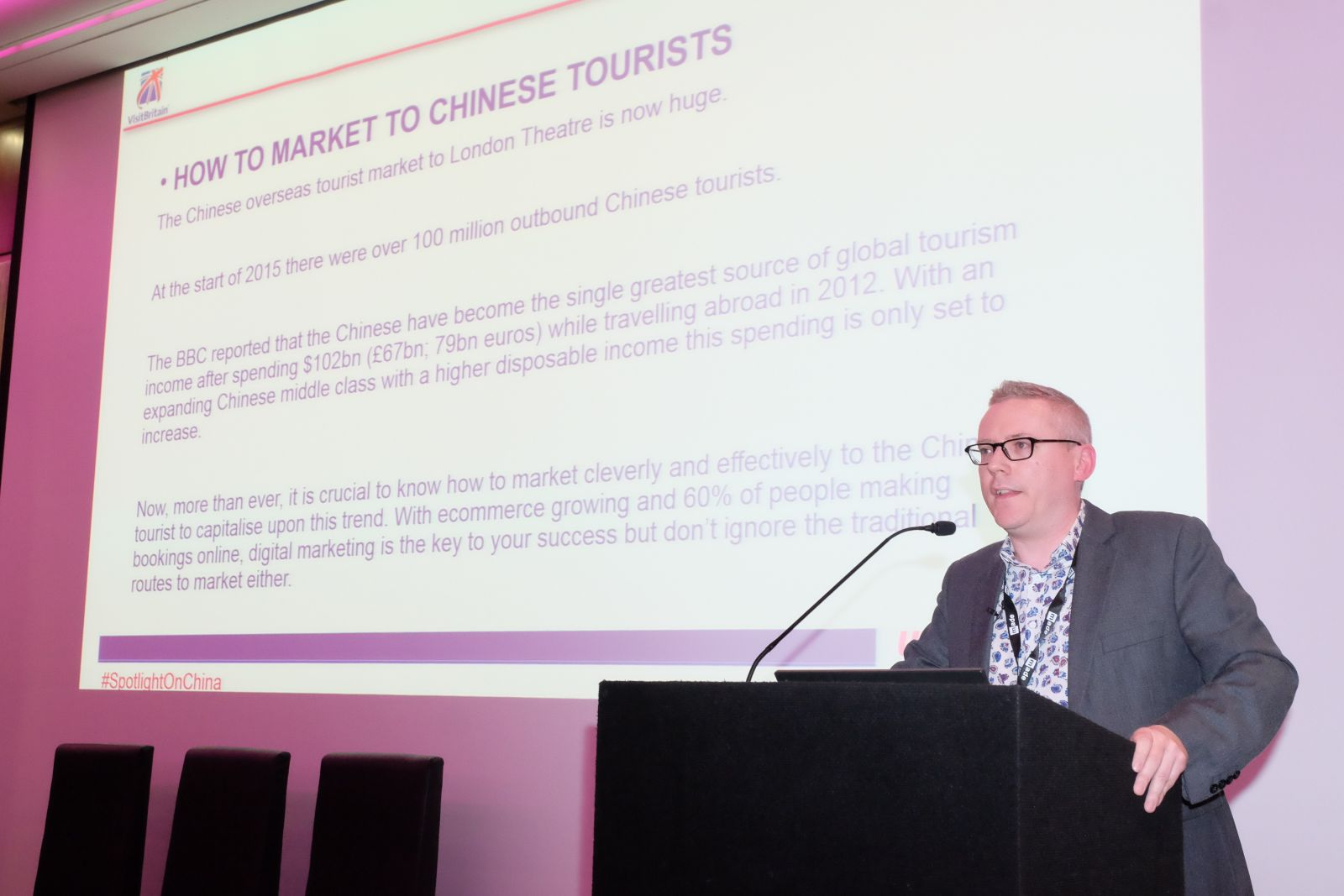 UKinbound: SpotLight on China