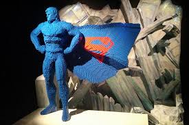Experiencing The Art Of The Brick: DC Super Heroes on London's South Bank