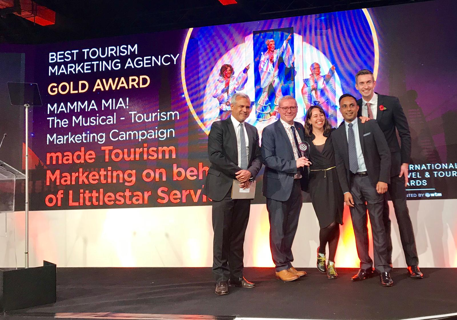 made recognised as Best Tourism Marketing Agency