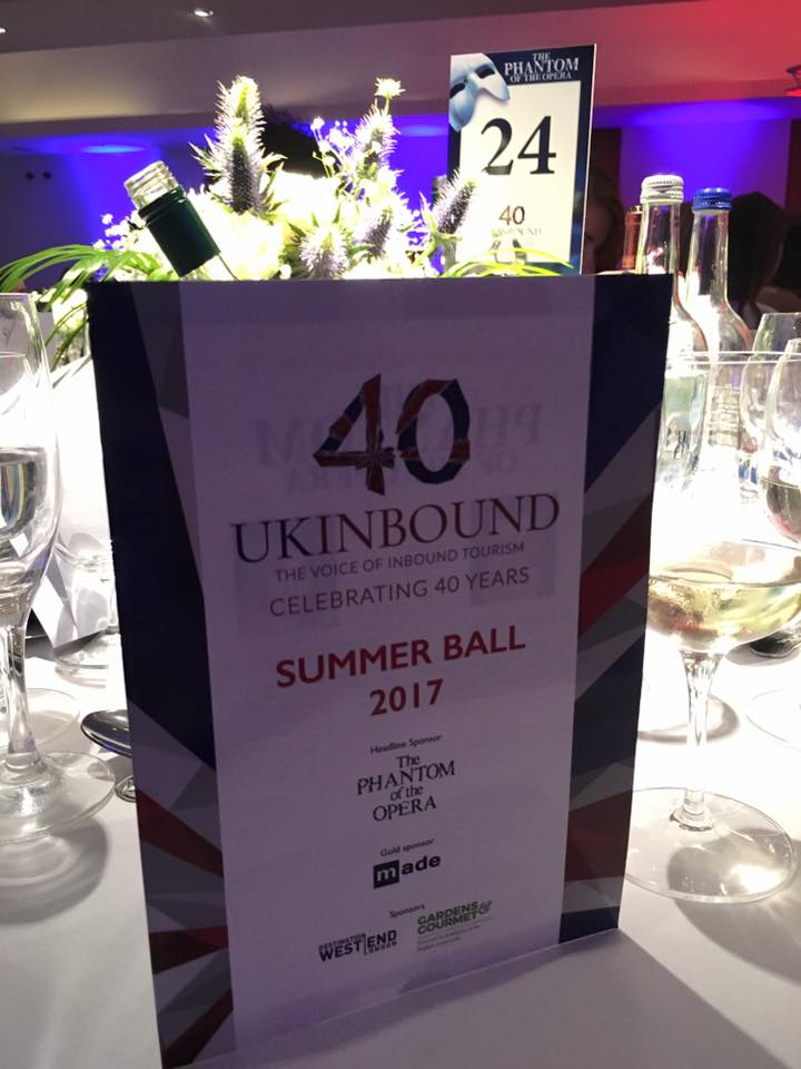 UKinbound Summer Ball 2017