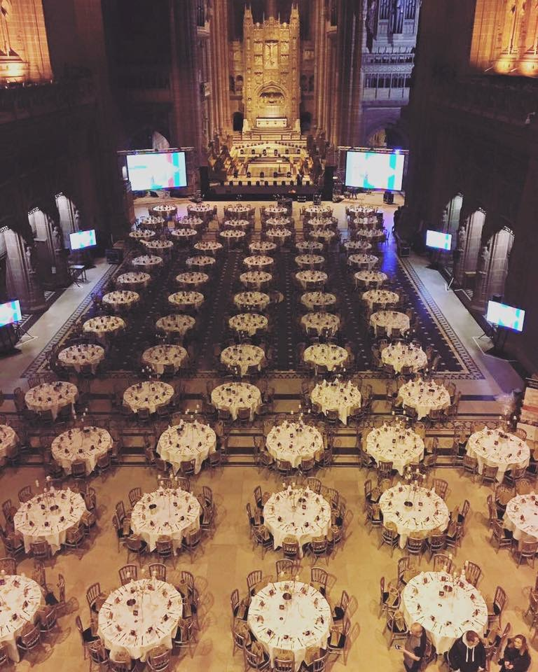 ExploreGB Gala Dinner at Liverpool Cathedral