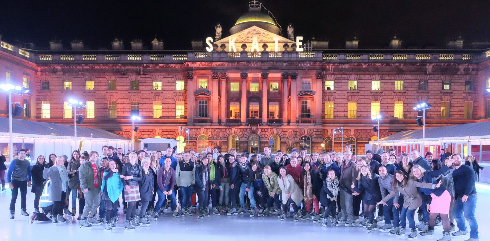 'Skate at Somerset House with Fortnum and Mason'