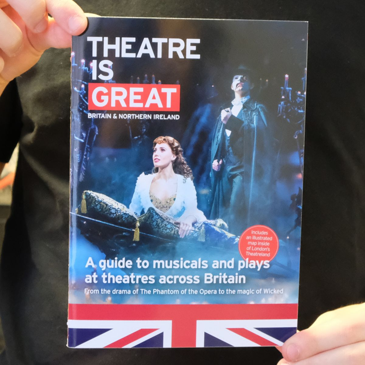 Theatre is GREAT shortlisted for Commercial Partnership of the Year