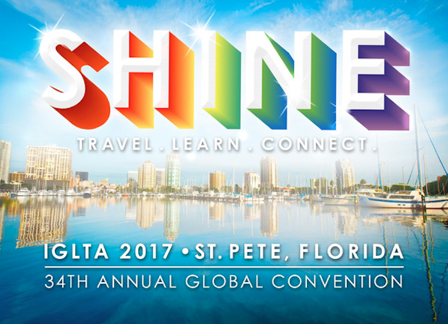 Jonathan Attends the 34th Annual IGLTA Global Convention In Florida