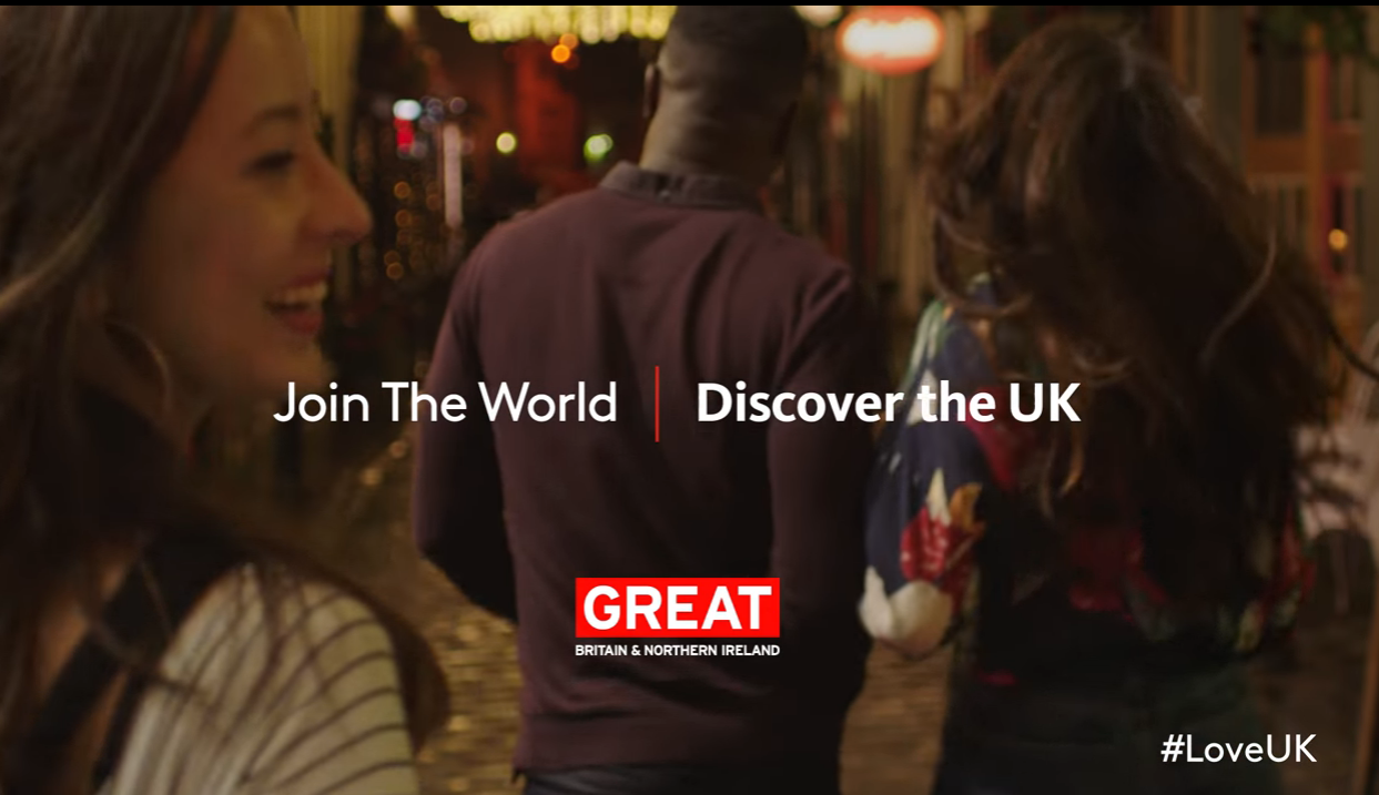 New campaign from VisitBritain aimed at young travellers