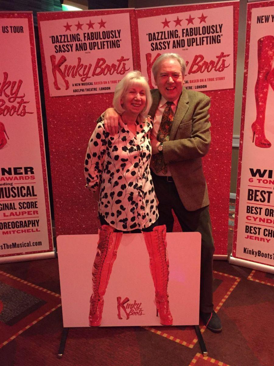 Kinky Boots comes home!