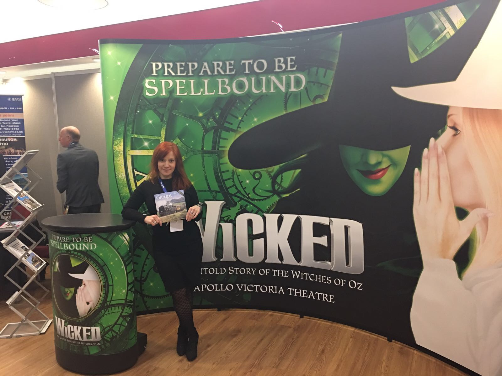 Made representing Wicked at Great For Groups