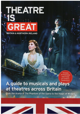 Theatre Is GREAT guide produced by made travel